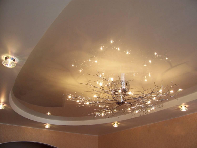Красивые подвесные потолки фото