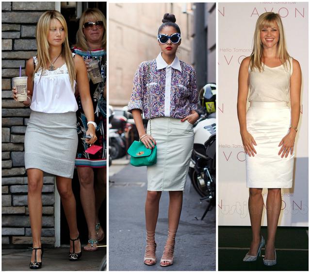 Что носить девушкам среднего роста