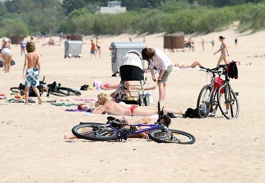 Рижские пляжи признаны самыми грязными.