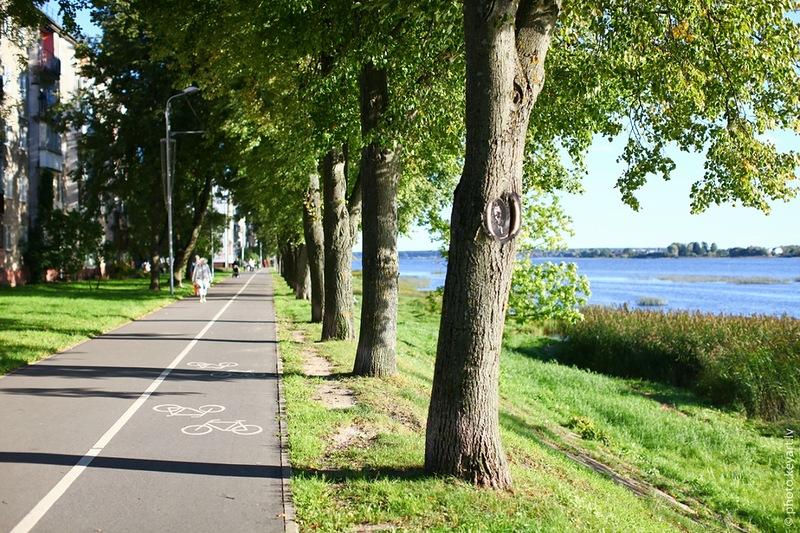 Реставрация квартала и открытие променада в центре Риги.