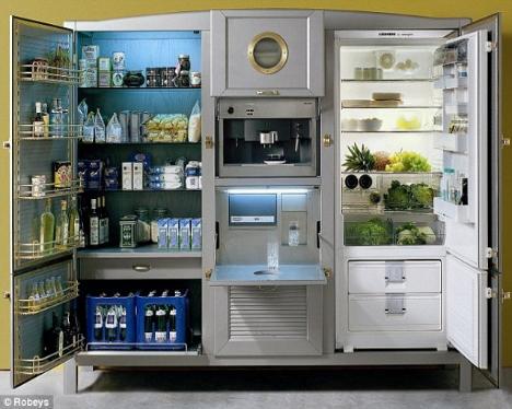 Невероятно крутой холодильник за $40 тысяч