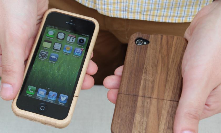 В Латвии производят деревянные корпуса для iPhone