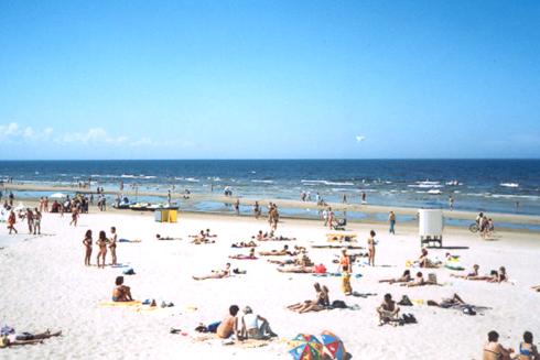 Последние тёплые выходные лета в Латвии