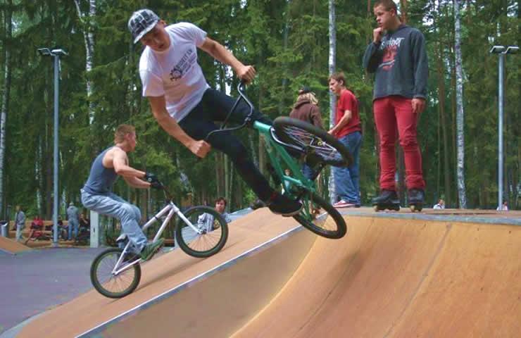 В Риге построят скейтпарк на променаде