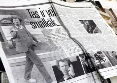 Латышская газета
