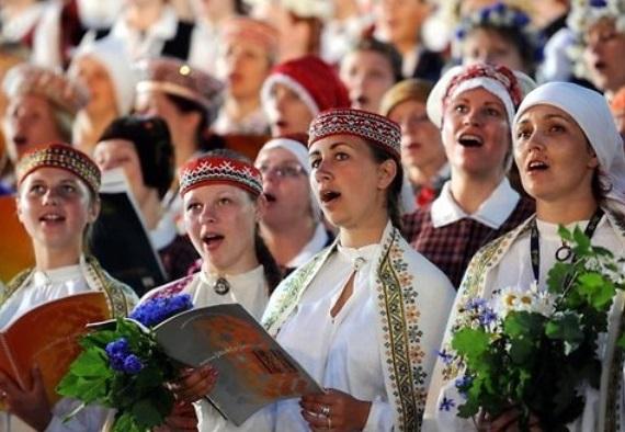 Вселатвийский праздник песни и танца.