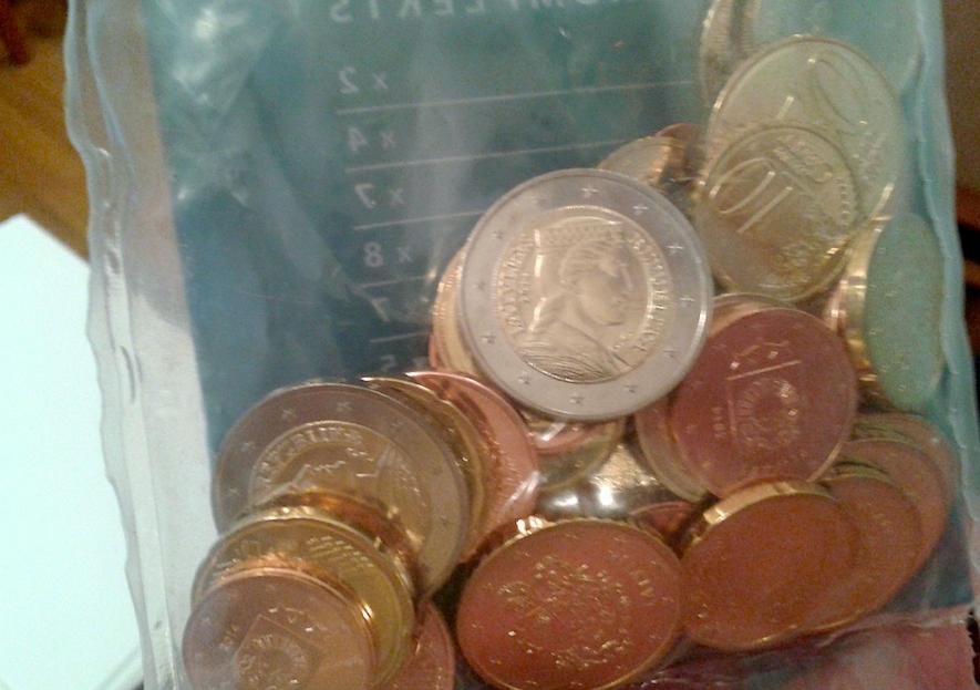 Латвийские евро монеты скоро поступят жителям Латвии