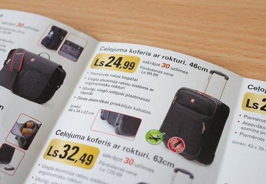 Чемоданы для багажа из Rimi непригодны для полётов