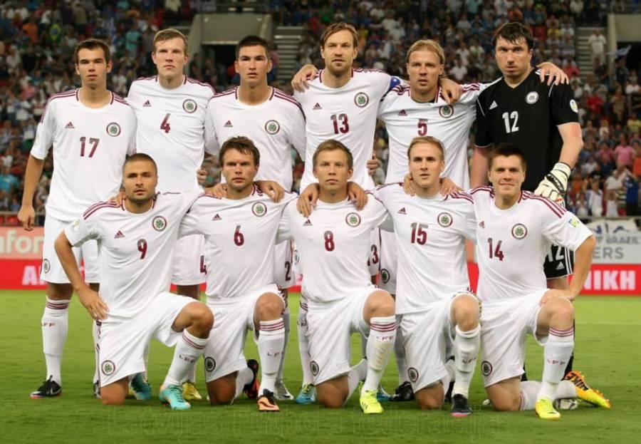 Футбол: последние игры сборной Латвии в ЧМ 2014