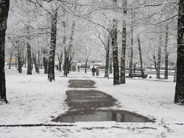 Мокрый снег в Латвии уже в сентябре?