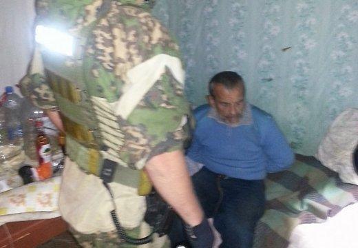 Преступника с Резекне поймали в одном из приграничных домиков