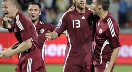 Футбол: Латвия одержала победу на Литвой