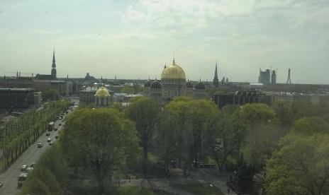 Купол Рижского Христорождественского кафедрального собора был позолочен