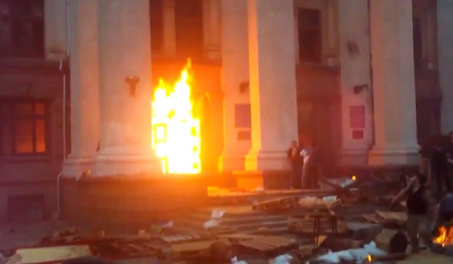 В результате беспорядков в Оде...