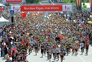 Кто победил в Рижском марафоне?
