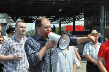 Сегодня началась акция протеста фермеров Латвии, пострадавших от российского эмбарго