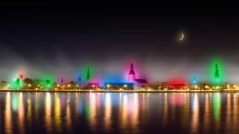 В Риге с 14 по 18 ноября пройдёт фестиваль света Staro Rīga 2014