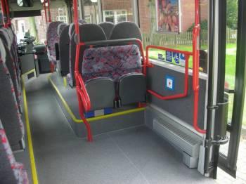 В Риге появился общественный транспорт для инвалидов