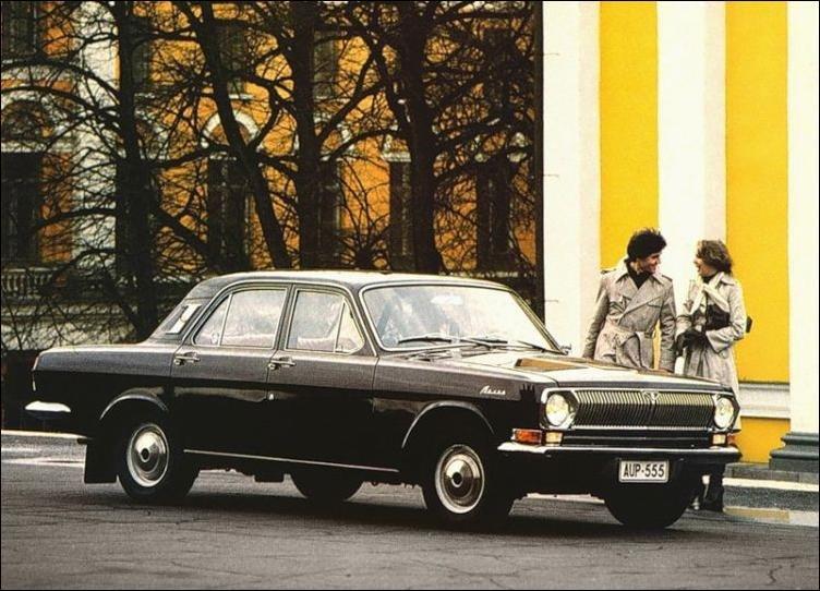 Ностальгия по советским авто в Латвии