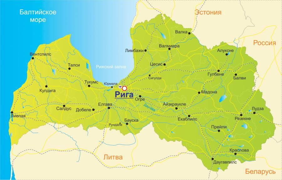 Немного о Латвии