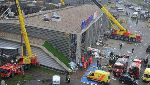 Строители не признают перегрузку крыши Maxima