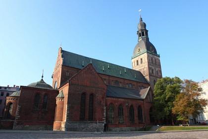 Реставрация башни Домского собора