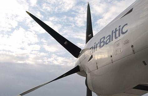 Латвийская национальная авиакомпания завершила год с прибылью