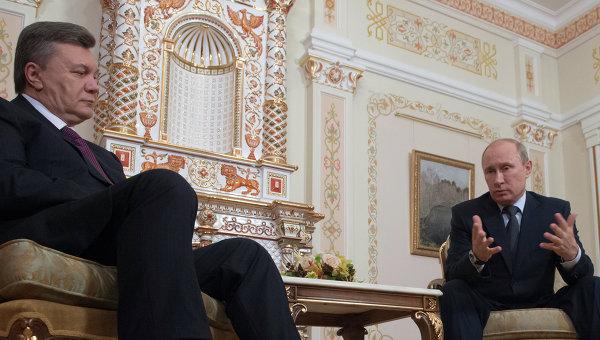Встреча Януковича и Путина