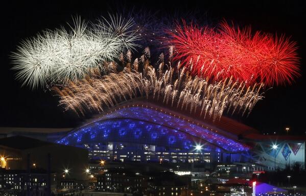 Официальное открытие XXII зимних Олимпийских Игр-2014