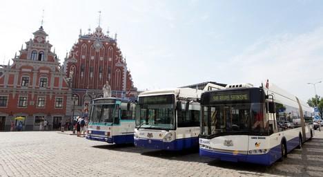 Вопросы по поводу стоимости проезда в общественном транспорте в Риге и ответы мэра Нила Ушакова