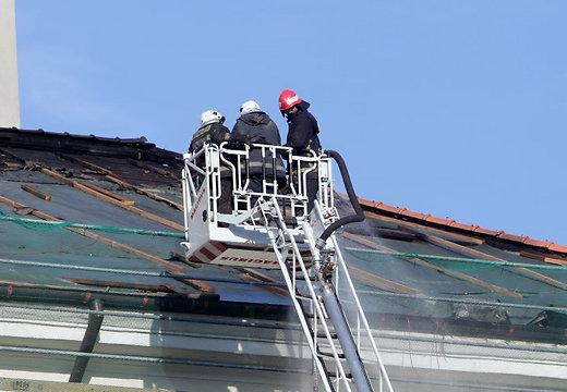 В пожарно-спасательной службе Латвии отмечается заметная нехватка кадров