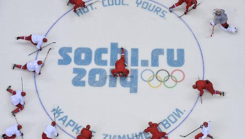 Главным в зимней олимпиаде является хоккейный турнир