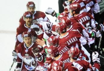Рижское «Динамо» после перерыва на олимпийских играх принесли на своих плечах победу