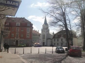 Рижская дума финансирует восстановление площади Пилс