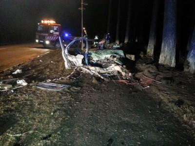 В Латвии третья тяжелейшая автомобильная авария